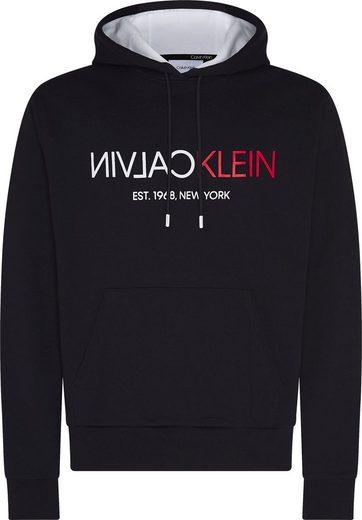 Calvin Klein Hoodie »TEXT REVERSE FRONT LOGO HOODIE«
