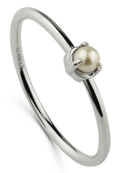 NANA KAY Silberring »Petit Pearls, ST1886«, mit Süßwasserzuchtperle