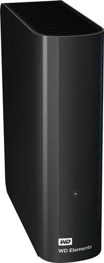WD »Elements Desktop« externe HDD-Festplatte (4 TB) 5000 MB/S Lesegeschwindigkeit)