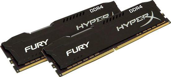 HyperX »HyperX Fury DDR4 3200MHz 32GB (2x 16GB) Black« PC-Arbeitsspeicher