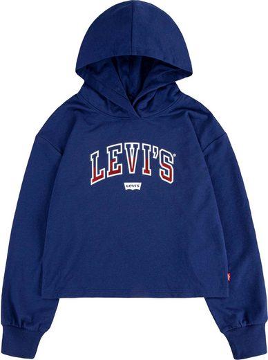 Levi's Kidswear Kapuzensweatshirt in kurzer Form