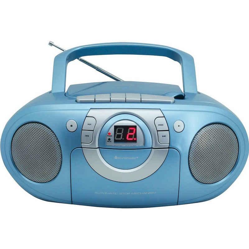 Soundmaster »Radio-Kassettenspieler mit CD-Spieler« CD-Player