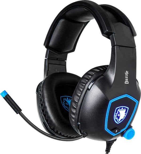 Sades »Dazzle SA-905« Gaming-Headset (Kompatibel mit PC, PS4 und Nintendo Switch, kabelgebunden)