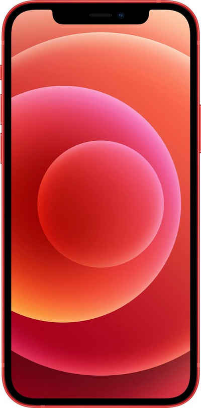 Apple iPhone 12 Smartphone (15,5 cm/6,1 Zoll, 64 GB Speicherplatz, 12 MP Kamera, ohne Strom Adapter und Kopfhörer, kompatibel mit AirPods, AirPods Pro, Earpods Kopfhörer)