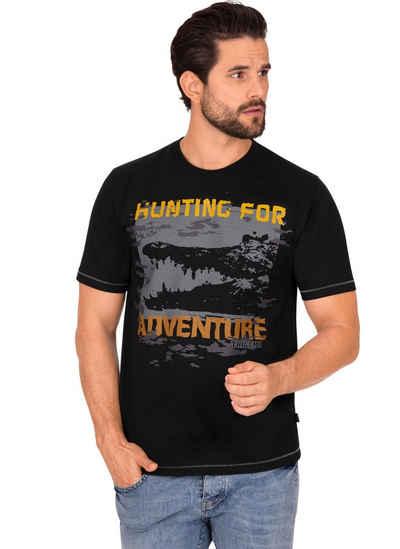 Trigema T-Shirt aus Baumwolle