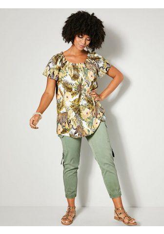 Angel of Style by HAPPYsize Kišeninės kelnės su elastingas Saum