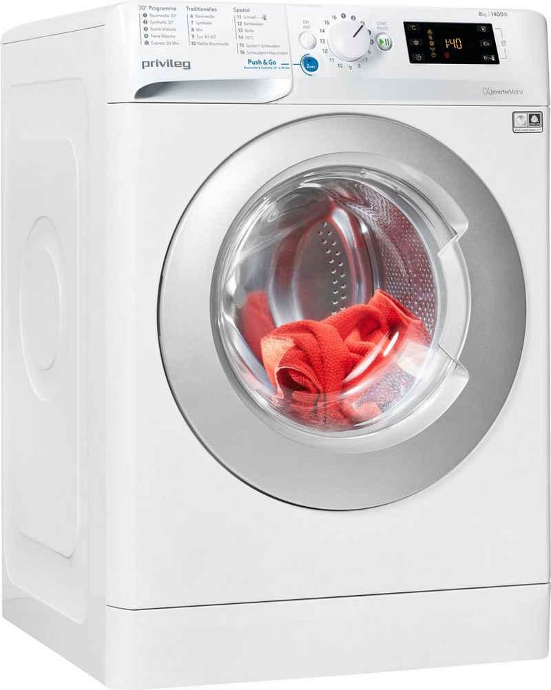 Privileg Waschmaschine PWF X 843 N, 8 kg, 1400 U/min