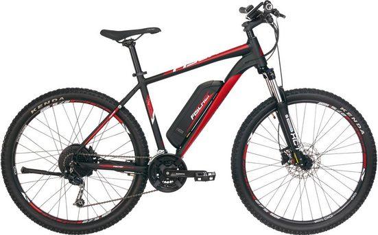 FISCHER Fahrräder E-Bike »EM 1726 MTB E-Bike«, 24 Gang Shimano Deore Schaltwerk, Kettenschaltung, Heckmotor 250 W