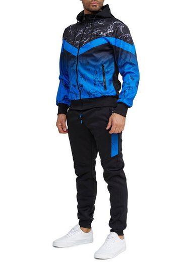 Egomaxx Trainingsanzug »3587«, Herren Slim Fit Trainingsanzug Casual Basic Streetwear Sportanzug