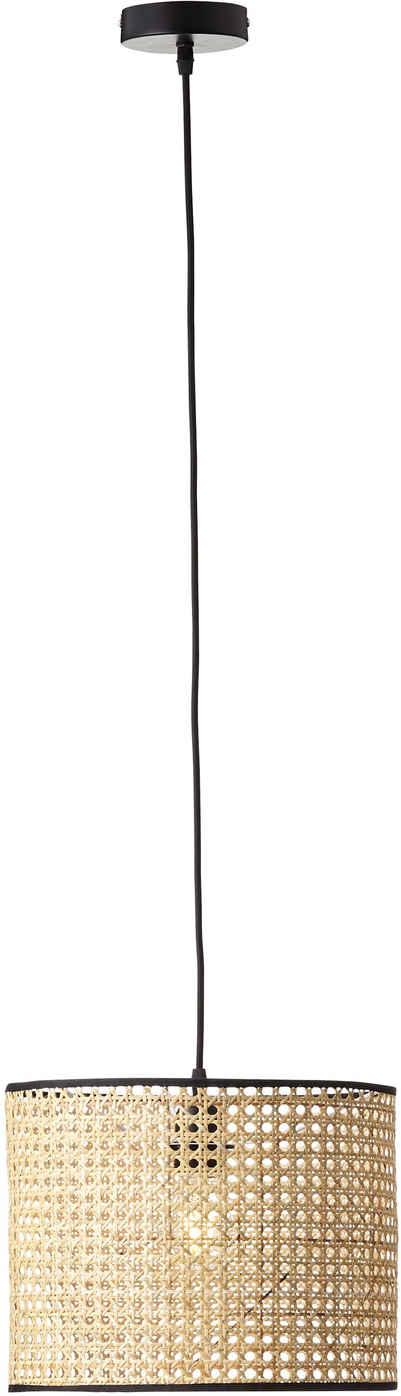 Brilliant Leuchten Pendelleuchte »WILEY«, Hängeleuchte, Kabel kürzbar; für LED-Leuchtmittel geeignet; dimmbar über externen Dimmer bei Verwendung eines geeigneten Leuchtmittels, Wiener Geflecht
