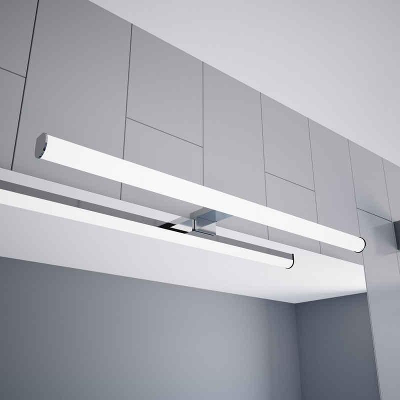 kalb Spiegelleuchte »kalb LED Spiegelleuchte 600mm Aufbauleuchte 230V Badezimmer Leuchte verchromt«
