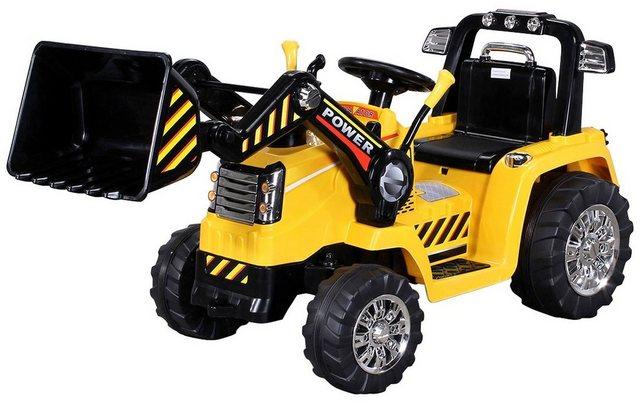Kinderauto elektrischer Bagger ZP10005 Radlader *