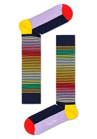 Happy Socks Kojinės iki kelių »Half Stripe« in kna...