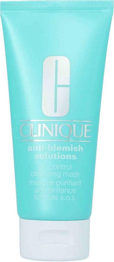 CLINIQUE Gesichts-Reinigungsmaske »Anti-Blemish Solutions Cleansing Mask«