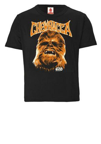 LOGOSHIRT Marškinėliai su Wookiee-Frontprint »St...