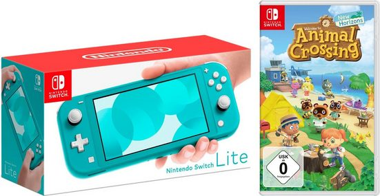 Nintendo Switch Lite, inkl. Animal Crossing