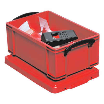 REALLYUSEFULBOX Aufbewahrungsbox, 9 Liter, verschließbar und stapelbar