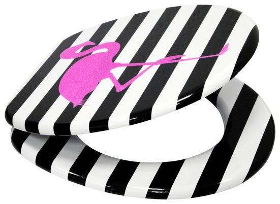 SANILO WC-Sitz »Flamingo«, mit Absenkautomatik