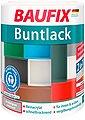 BAUFIX Acryl Buntlack seidenmatt dunkelgrau, 1 l, Bild 1