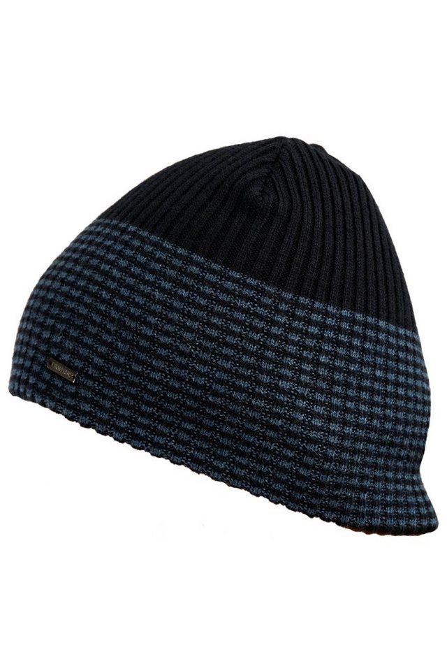 finn flare -  Strickmütze mit zweifarbigem Muster