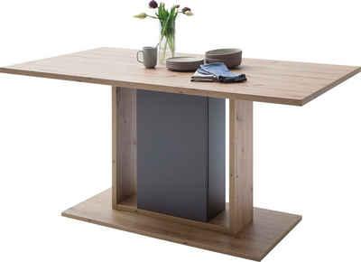 MCA furniture Esstisch »Lizzano«, Landhausstil modern, bis 80 Kg belastbar, Tisch 160 cm breit