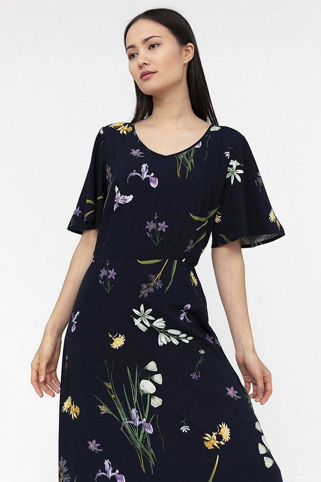 finn flare -  Jerseykleid mit zartem Blumenmuster