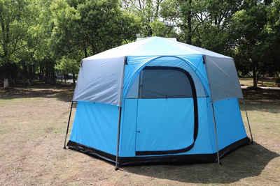 CHILLROI Gruppenzelt »CHILLROI Oktagon Zelt 8 Personen Familienzelt Festivalzelt Großraumzelt Hauszelt«