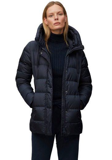 Marc O'Polo Daunenjacke mit Kapuze und Zippertaschen