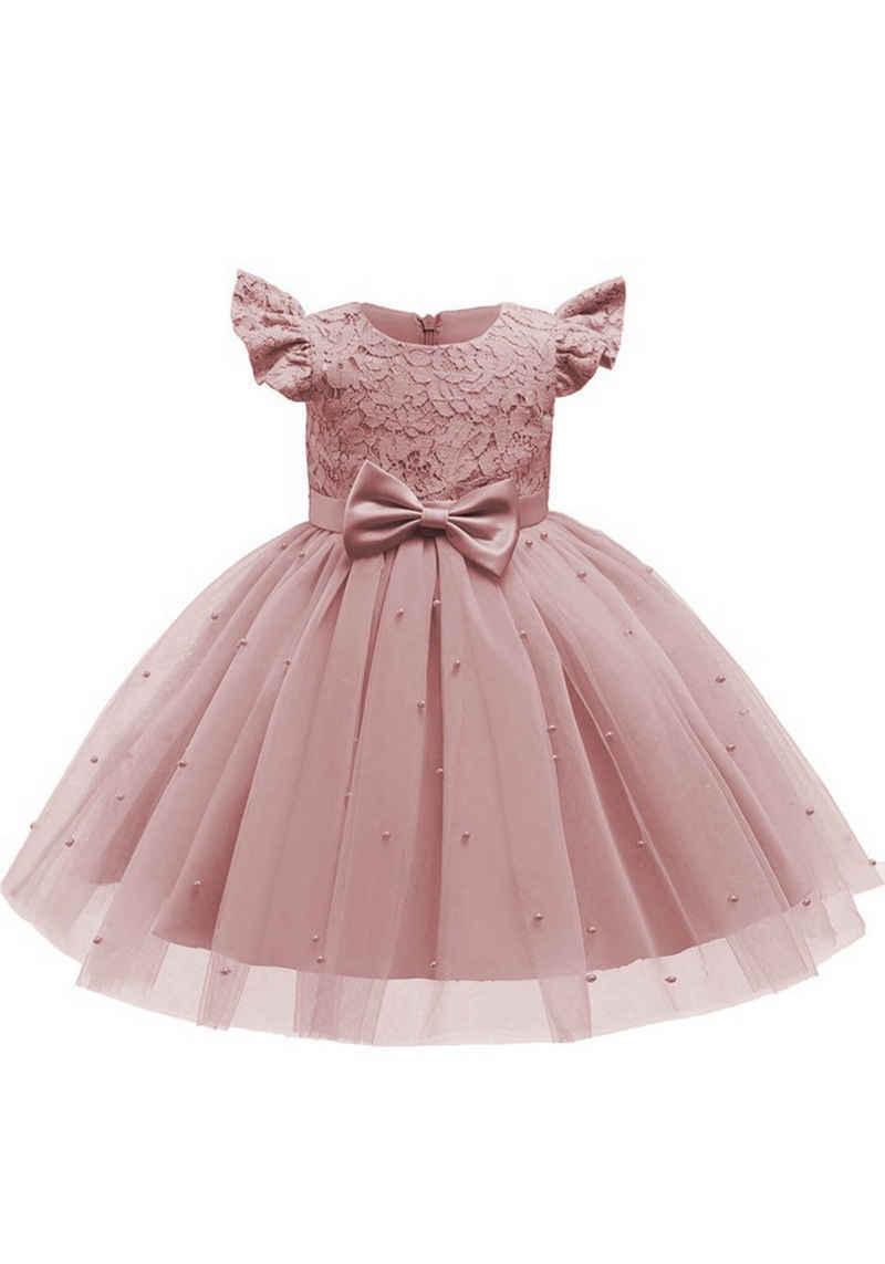 TOPMELON Partykleid Prinzessin Kleid für Mädchen