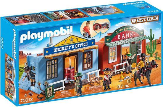 Playmobil® Spielfigur »PLAYMOBIL® 70012 Mitnehm-Westerncity«