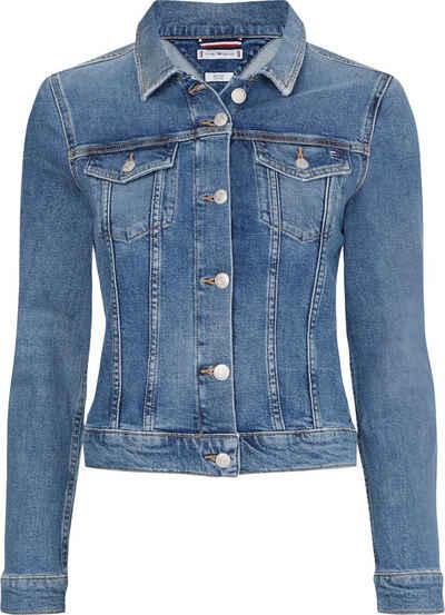 Tommy Hilfiger Jeansjacke »Vienna Slim Jacket Lus« mit den typischen Trucker Details
