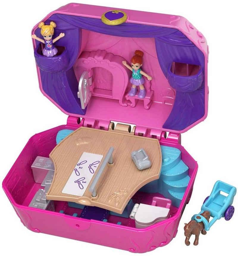 Mattel® Minipuppe »Mattel GCJ88 Polly Pocket World Ballettbühne Schatulle« (Packung)