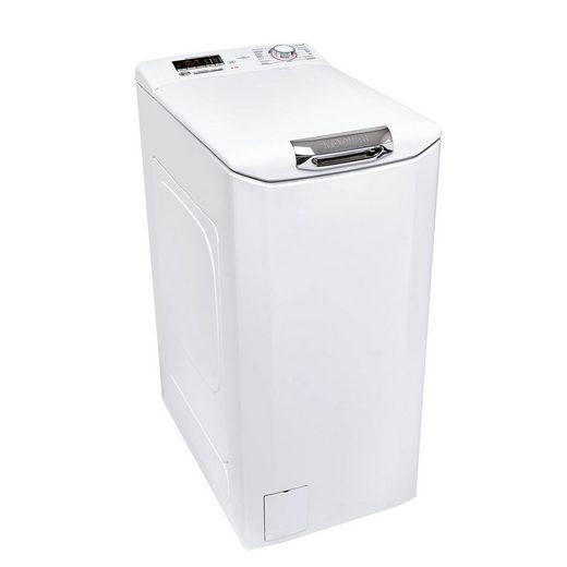 Hoover Waschmaschine Toplader H3TC1062DACE/-84, 6 kg, 1000 U/min, Mengenautomatik, Kindersicherung