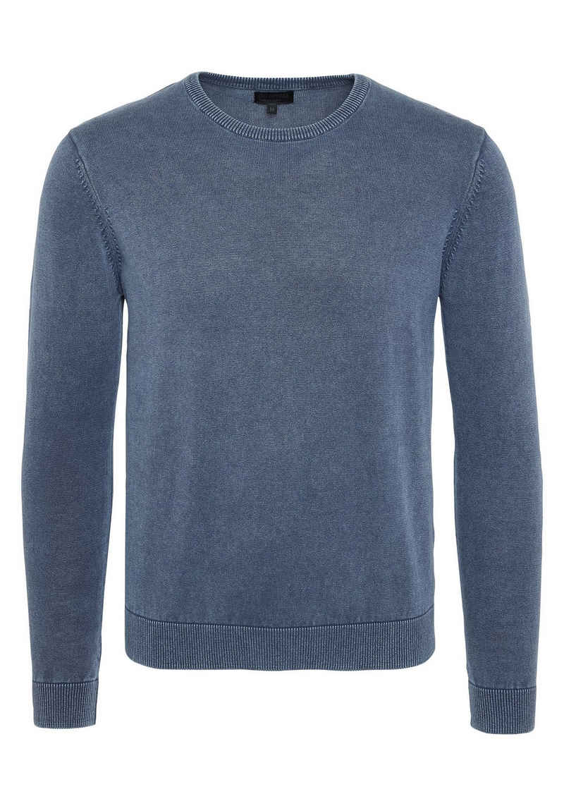 Oklahoma Jeans Strickpullover »Men, Knitted Sweater, Regular Fit« (1-tlg)