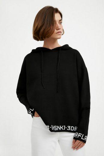 Finn Flare Kapuzensweatshirt aus Baumwolle