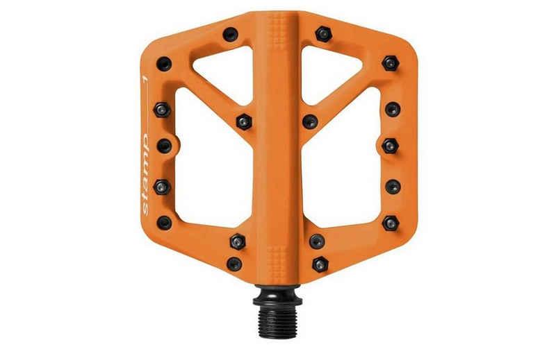 crankbrothers Fahrradpedale »Crankbrothers Plattformpedal Stamp 1 Orange«