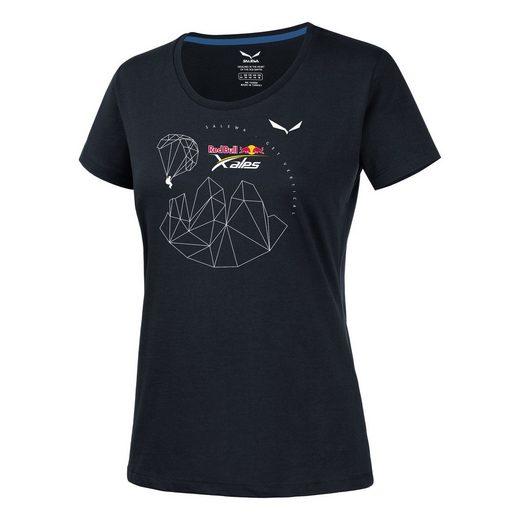 Salewa T-Shirt »Salewa - Redbull X-Alps Tee (T-Shirt Damen)«