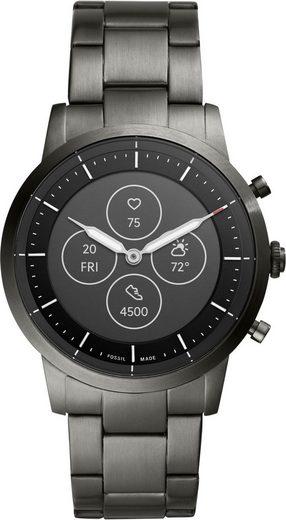 Fossil Smartwatches COLLIDER HYBRID SMARTWATCH HR, FTW7009 Smartwatch (Proprietär)