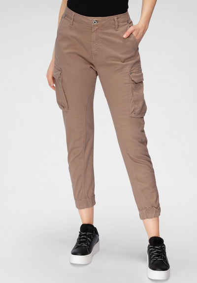 Please Jeans Cargohose »P 0HD« mit Außentaschen