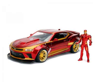 JADA Spielzeug-Auto »Marvel - The Avengers - Iron Man & 2016 Chevy Camaro SS«