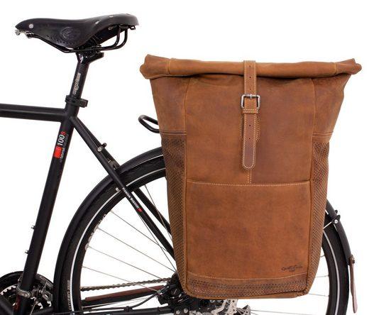 Gusti Leder Fahrradtasche »Miquel I.«, Damen Herren