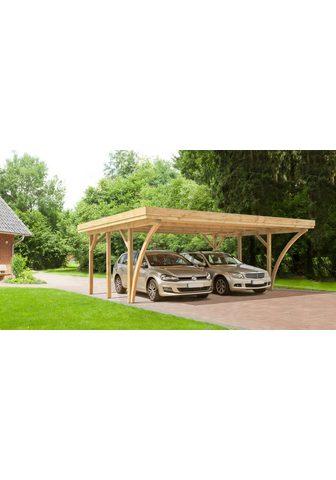 Kiehn-Holz Doppelcarport »KH 104« 210 cm Einfahrt...