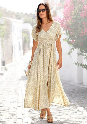 LASCANA Ilga suknelė su Blumendruck