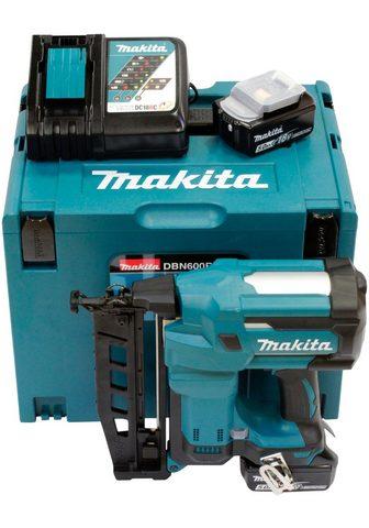 Makita Akku-Stauchkopfnagler »DBN600RTJ« 18 i...