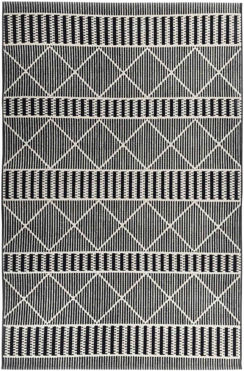 Teppich »Funky Outdoor Geometric«, TOM TAILOR, rechteckig, Höhe 5 mm, Flachgewebe, In- und Outdoor geeignet, Wohnzimmer