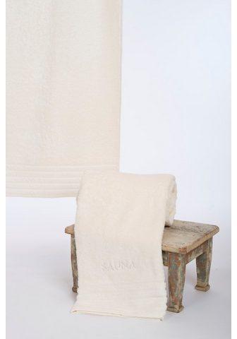 Wewo fashion Saunatuch »AIDA« (1-St) Bestickung pir...