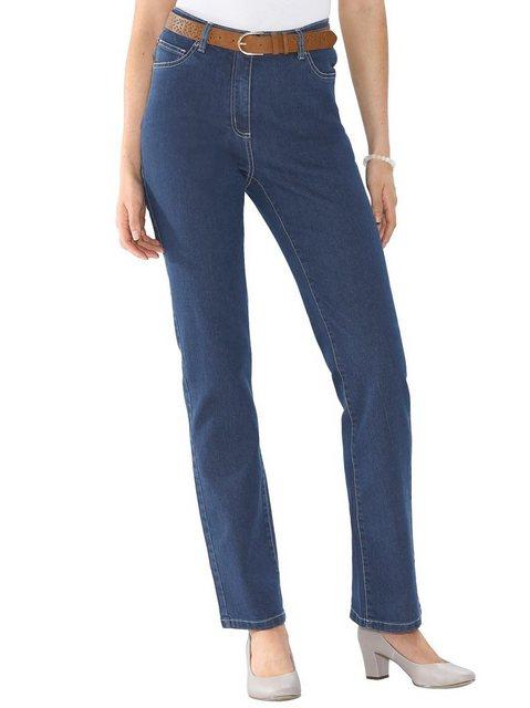 Hosen - Classic Basics 5 Pocket Jeans › blau  - Onlineshop OTTO