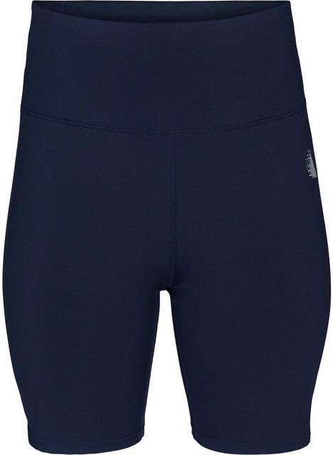 Hosen - Active by ZIZZI Trainingsshorts Große Größen Damen Einfarbige Trainingsshorts mit hoher Taille ›  - Onlineshop OTTO