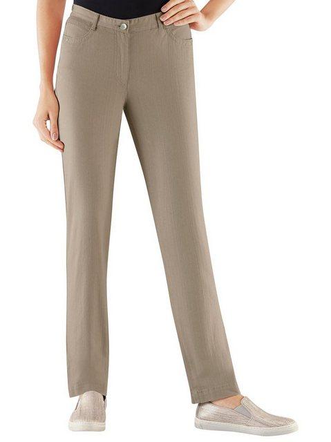 Hosen - Casual Looks Stretch Jeans › grün  - Onlineshop OTTO
