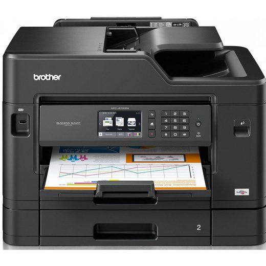 Brother MFC-J5730DW Multifunktionsdrucker Drucker Scanner Tintenstrahl WLAN Multifunktionsdrucker, (LAN (Ethernet), WLAN (Wi-Fi)